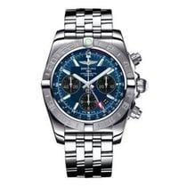 Breitling AB042011/C852-pilot-steel Chronomat GMT 44 Mens...