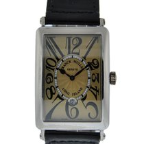 Franck Muller Long Island 18kt White Gold With Copper Colored...