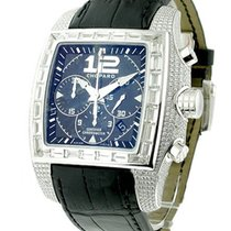Chopard 17/2289-20 Two O Ten in White Gold with Pave Diamond...
