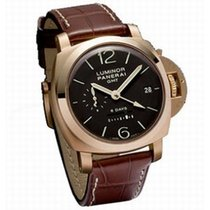 Panerai Luminor  rose gold 1950 8 Days GMT pam289