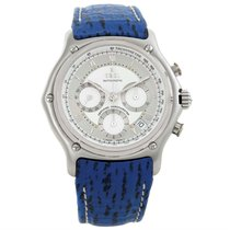 Ebel Le Modulor Automatic Chronograph Blue Strap Watch 9137241...