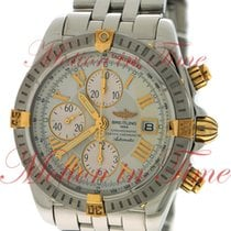 Breitling Chronomat Evolution 44mm Chronograph, Beige-Ivory...