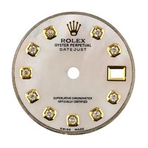 Rolex DateJust 26mm White Mother of Pearl/Diamond Hour Markers...