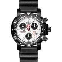 Swiss Military Divers Sw1 Scuba Nero Watch Eta Chrono 1000m/33...