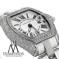 Cartier Ladies Cartier Roadster Small Size W62016v3 Stainless...