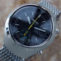 Seiko 6139 7100 Chronograph Automatic Stainless Steel 1970s...