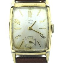 Elgin Pre-owned Elgin Vintage Gold Plated Watch