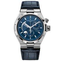 Vacheron Constantin 47450/000a-9039 Overseas Dual Time Blue Watch