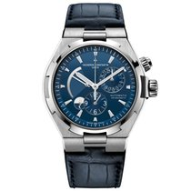 Vacheron Constantin 47450/000a-9039 Overseas Dual Time Blue Watch