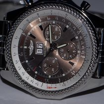 Breitling Bentley 6.75  Stainless Steel Chronograph Automatic