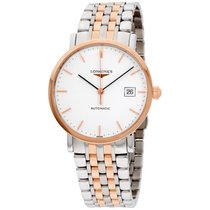 Longines Elegant White Dial Two-tone Watch L48105127