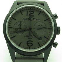 Bell & Ross Br126-94 Comando All Black Pvd Chronograph...