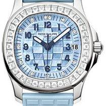 Patek Philippe Aquanaut Ladies White Gold 5072G-001