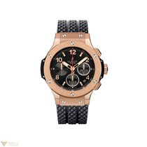Hublot Big Bang 44 Chronograph Rose Gold Rubber Men's Watch