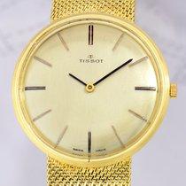 Tissot Dresswatch Gold 585 Milanaiseband Gold Vintage Classic rar