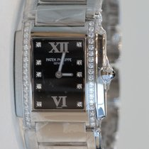 Patek Philippe Twenty-4 Rose Full Stainless Steel Diamond...