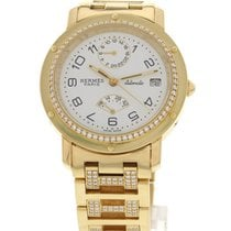 Hermès Ladies Hermes 18k Yellow Gold & Diamonds 1033935