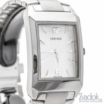 Concord Carlton Stainless Steel Men's Watch 27mm Quartz...