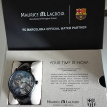 Maurice Lacroix Masterpiece Skeleton FC Barcelona