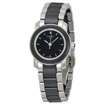 Tissot T-Trend Cera Black Ceramic Ladies Watch T0642102205100