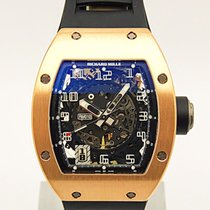 Richard Mille 18k Rose Gold Rm10 Skeletonized Automatic...