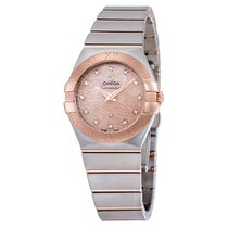 Omega Constellation Pink Mother of Pearl Dial Ladies Watch...