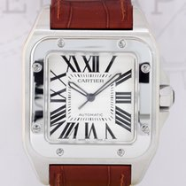 Cartier Santos 100 XL Edelstahl sportlich elegant Automatic...