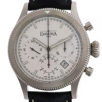 Davosa Business Pilot Stahl Chronograph Automatik 42 mm