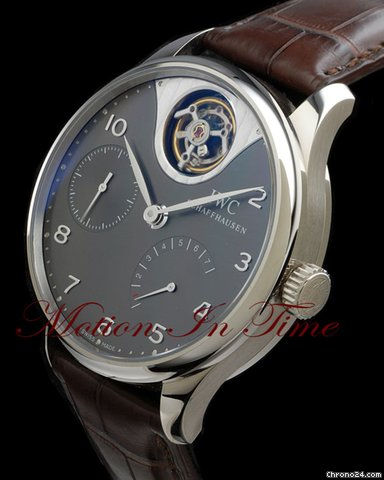 IWC PORTUGUESE TOURBILLON MYSTERE WHITE GOLD - LIMITED EDITION