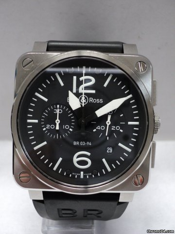 Bell &amp;amp; Ross Instrument BR03-94 Preowned with papers