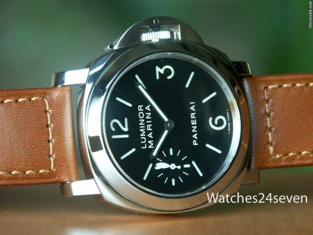 Panerai PAM 111 Luminor Marina Sandwich Dial & Seconds Hand: Retail
