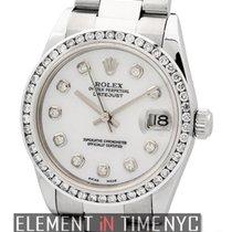Rolex Datejust 31mm Stainless Steel Diamond Bezel MOP Diamond...