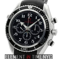 Omega Seamaster Planet Ocean Chronograph London Winter Olympic...