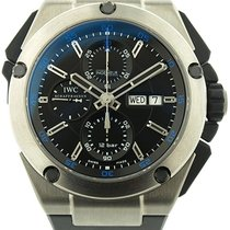 IWC Ingenieur Double Chronograph Titanium Automatic Watch...