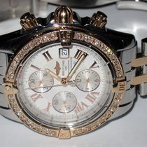 Breitling Chronomat Evolution 18K Rose Gold Diamonds