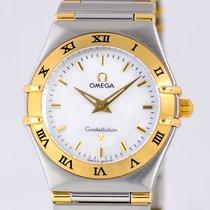 Omega Constellation MOP Stahl/Gold Klassiker B&P Luxus...