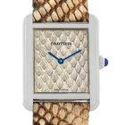 Cartier Tank Solo Python Small Steel Watch W5200020 Unworn
