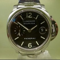 Panerai modern luminor marina full acier op 6625 serial H 468/600