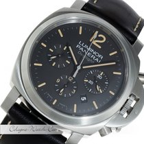 Panerai Luminor Daylight Chronograph Stahl PAM00356