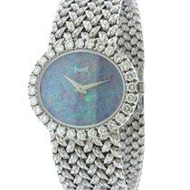 Piaget 18k White Gold & Diamond Ladies' Bracelet Watch...