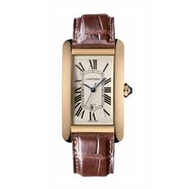 Cartier Tank Americaine Automatic Ladies Watch Ref W2609156