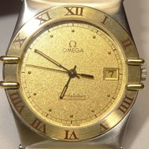 Omega Constellation SS/18K Ref 389.0876 Cal 1431 Date Watch...