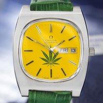 Omega Geneve Jumbo Automatic Watch Marijuana Dial J796
