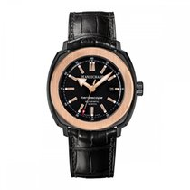JeanRichard Terrascope Black PVD & Rose Gold Bezel