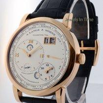 A. Lange & Söhne Lange 1 Timezone 18k Rose Gold Mens Watch...