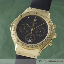 Hublot Mdm 18k (0,750) Gold Chronograph Herrenuhr Datum 1621.3