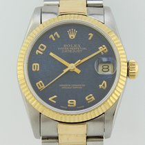 Rolex Oyster Perpetual Midsize Datejust Automatic Steel-Gold