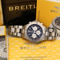 Breitling Hercules automatic chronograph box papers cosc