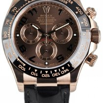 Rolex Cosmograph Daytona Oyster Chocolate Mechanical Men Watch...