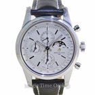 Breitling Transocean Chronograph 1461 moon phases steel